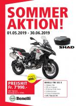 Benelli TRK 502 X Aktion 2019